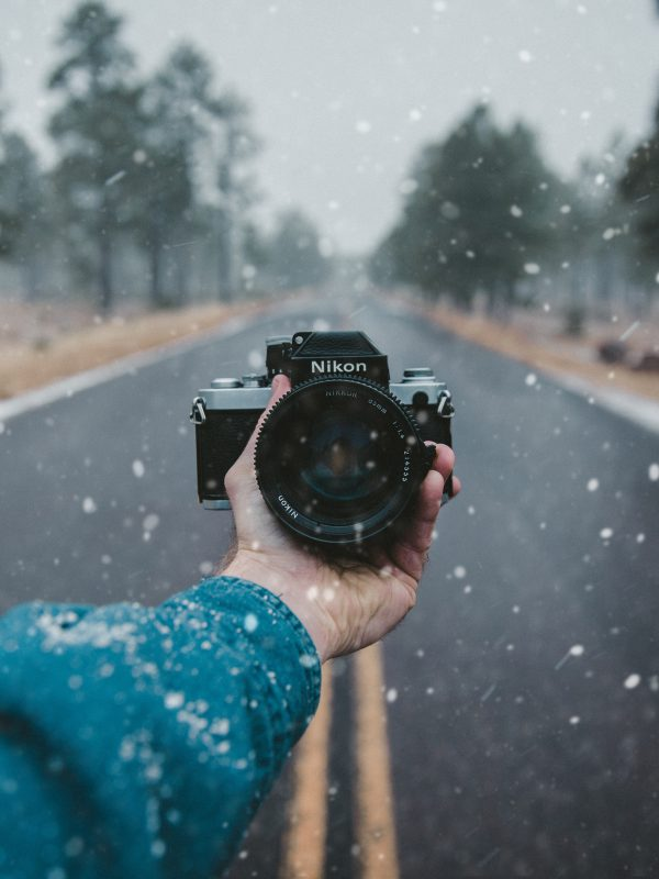 Nikon Camera selfie